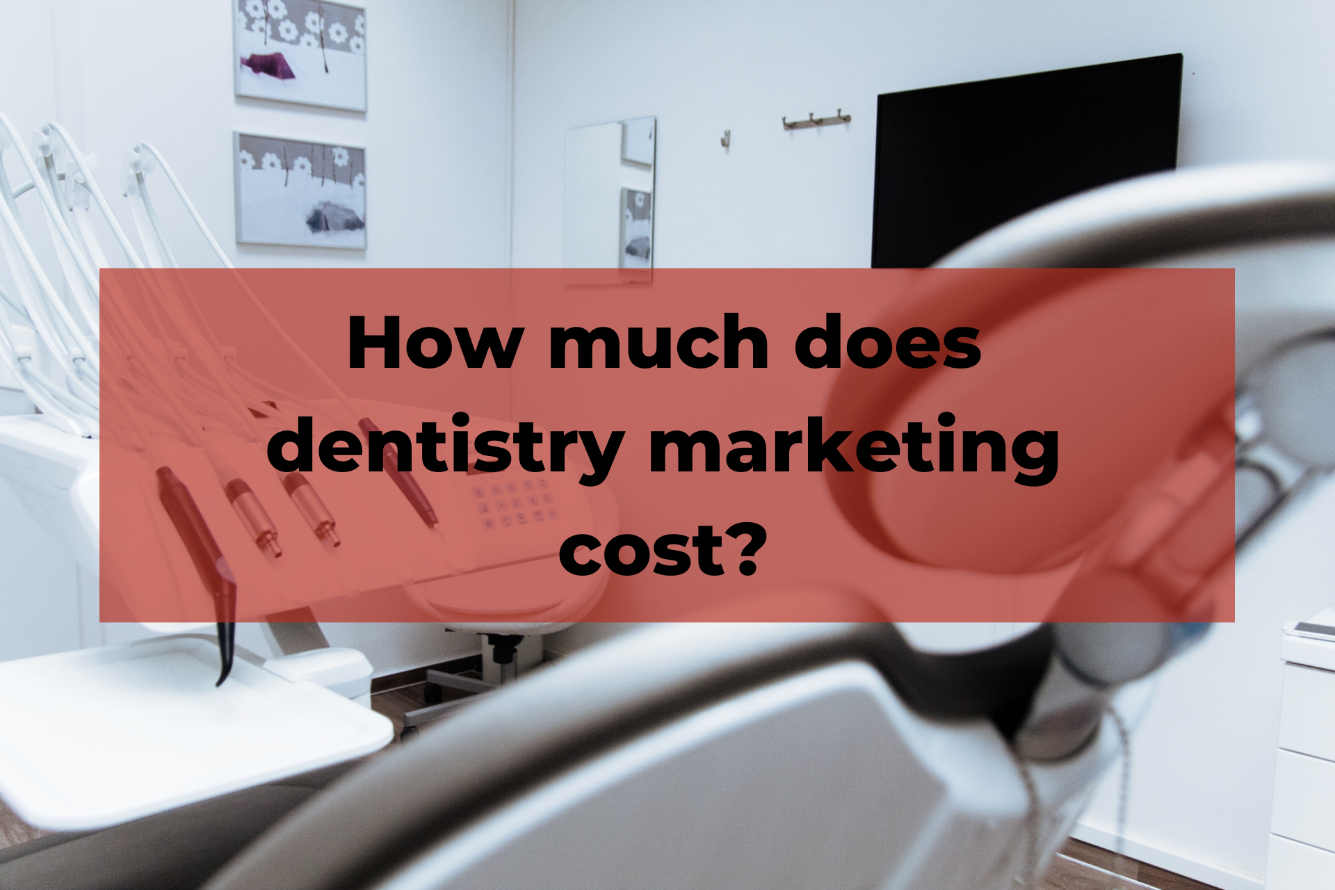 How much does dentistry marketing cost?