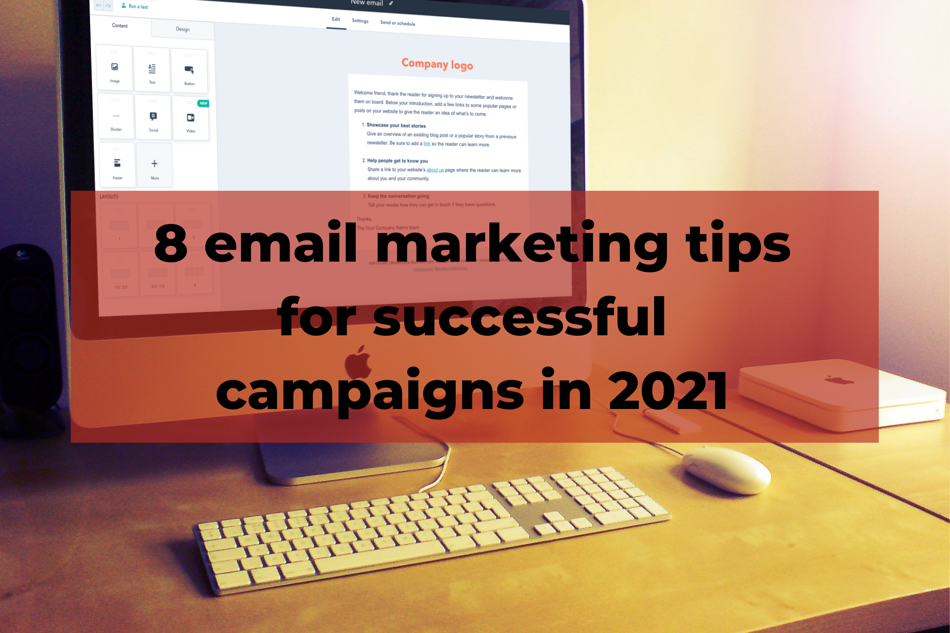 8 email marketing tips for successful campaigns in 2021